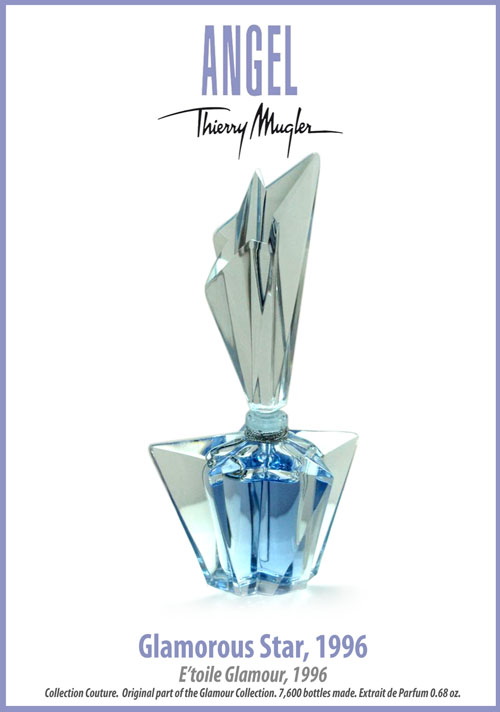 Thierry Mugler Angel Perfume Bottle 1996 Glamorous Star, (E'toile Glamour)