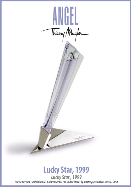 Thierry Mugler Angel Perfume Collector's Limited Edition Bottle 1999 Lucky Star