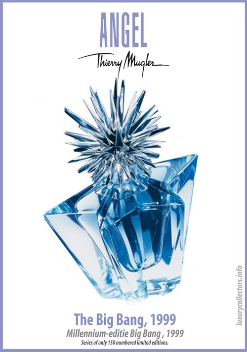 Thierry Mugler Angel Perfume Collector's Limited Edition Bottle 1999 The Big Bang