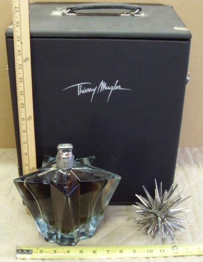 Thierry Mugler's Angel Limited Edition Perfume Bottle The Big Bang 1999 Box