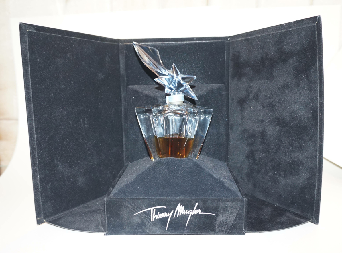 Certificate of Authenticity Thierry Mugler Angel Perfume Bottle 1995 Etoile Comète Star, (L'Etoile Comète) Box