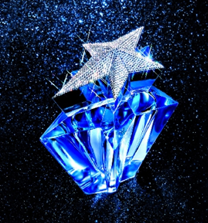 Thierry Mugler Angel 20 Years Perfume Collector's Limited Edition Bottle 2007 Superstar Deluxe Dream of Swarovski Factice