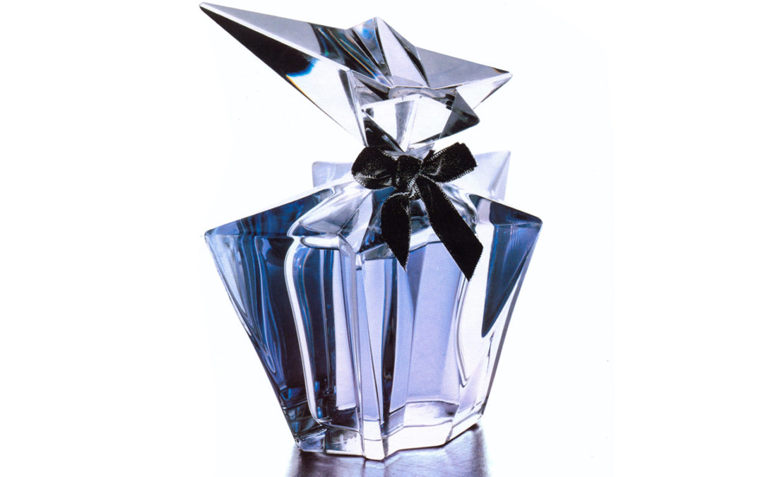 The First Thierry Mugler Couture Star Perfume Bottle for Angel, 1994.