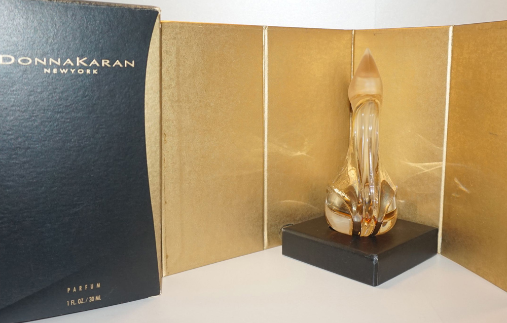 Donna Karan New York Parfum 24K Gold and Black Bottle