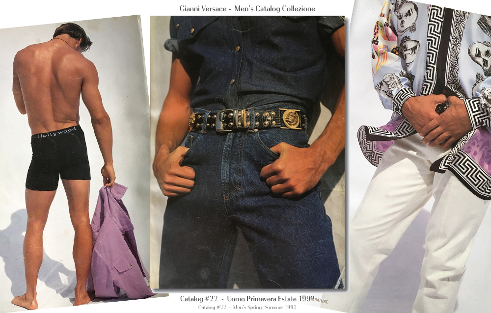 Gianni Versace Men's Catalog #22 – Spring/Summer 1992