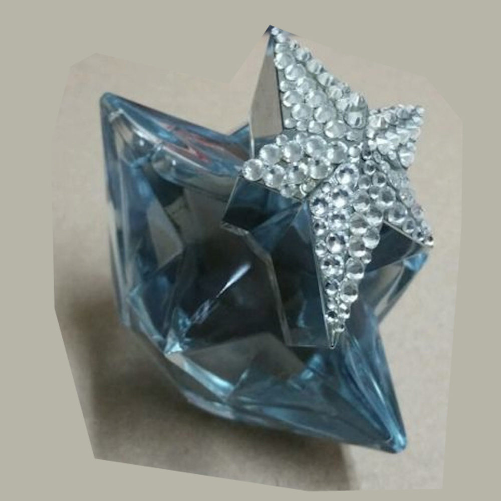 Thierry Mugler Angel Perfume Collector's Limited Edition Bottle 2006 Forever Star Swarovski Crystals Stopper Cap
