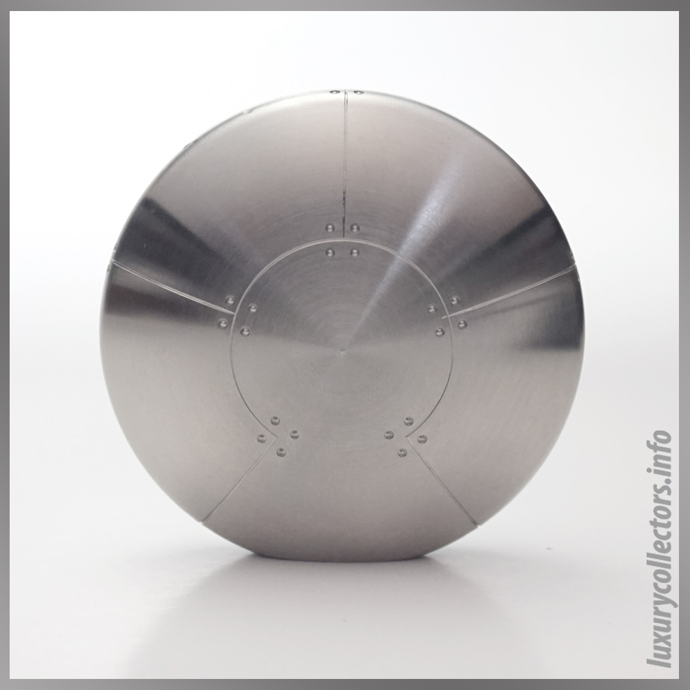 Streamerica Tiffany & adn Co. Perisphere Nesting Boxes Stainless Steel Paperweight Standing