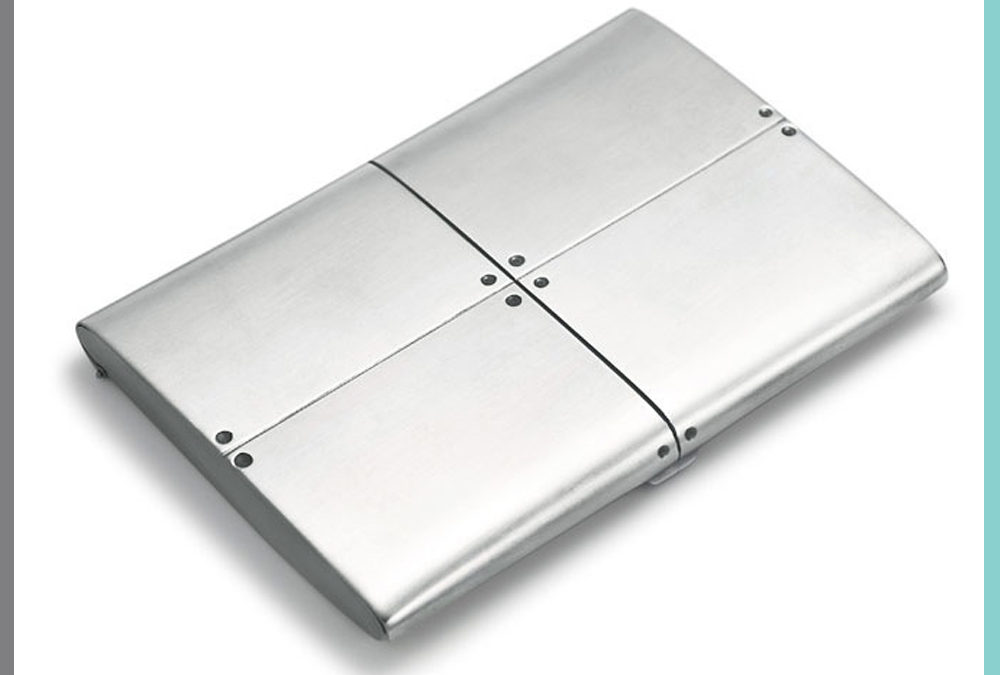 Tiffany & Co. Streamerica Card Case in Sterling Silver.