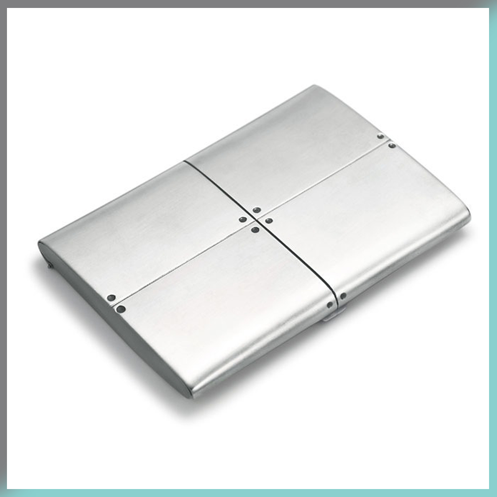 business card case tiffany and co streamerica sterling silver collection 2002 925 - Silver Business Card Holder