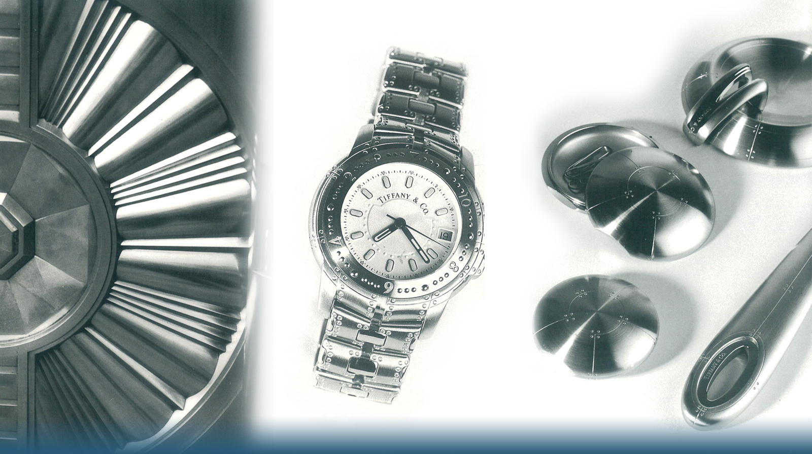 Collection of Tiffany & Co. Streamerica line Collection