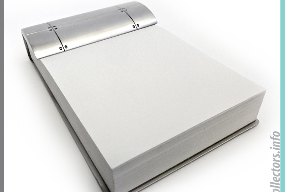 Tiffany & Co. Streamerica Note Pad in Sterling Silver.