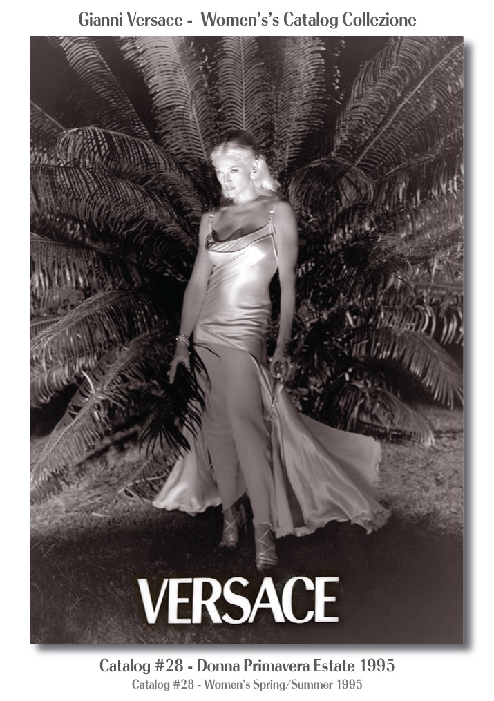 Steven Meisel Madonna Gianni Versace Donna Collezione Primavera Estate Woman's Spring Summer Catalog Fashion Supermodels #28, 1995