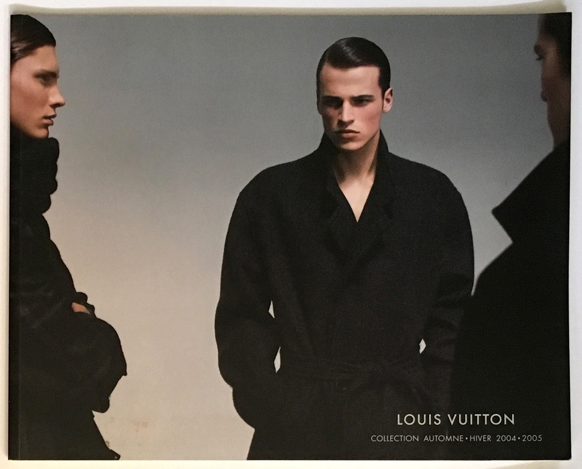 Louis Vuitton Paris Fashion Catalog Fall Winter Pret a Porter Ready to Wear RTW Cover Automne - Hiver Marc Jacobs Men Homme 2004 - 2005