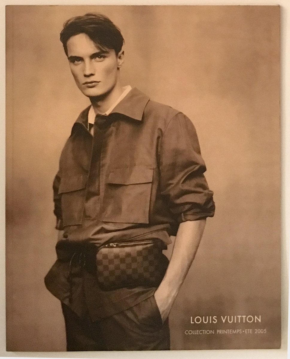 Louis Vuitton Fashion Catalog Spring Summer Men Women RTW Cover Printemps Ete Paris Marc Jacobs 2005 Damier Belt Bag