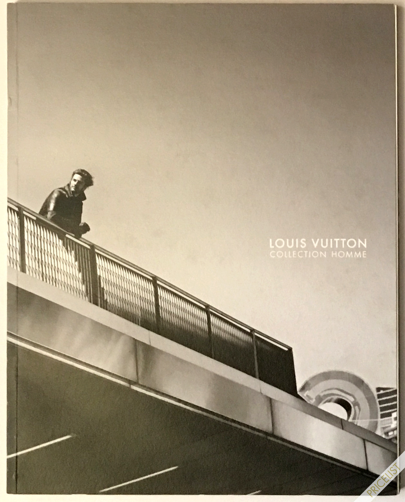 Louis Vuitton Paris Fashion Catalog Fall Winter Pret a Porter Ready to Wear RTW Cover Automne - Hiver Marc Jacobs Men Homme 2011- 2012 Leather Jacket