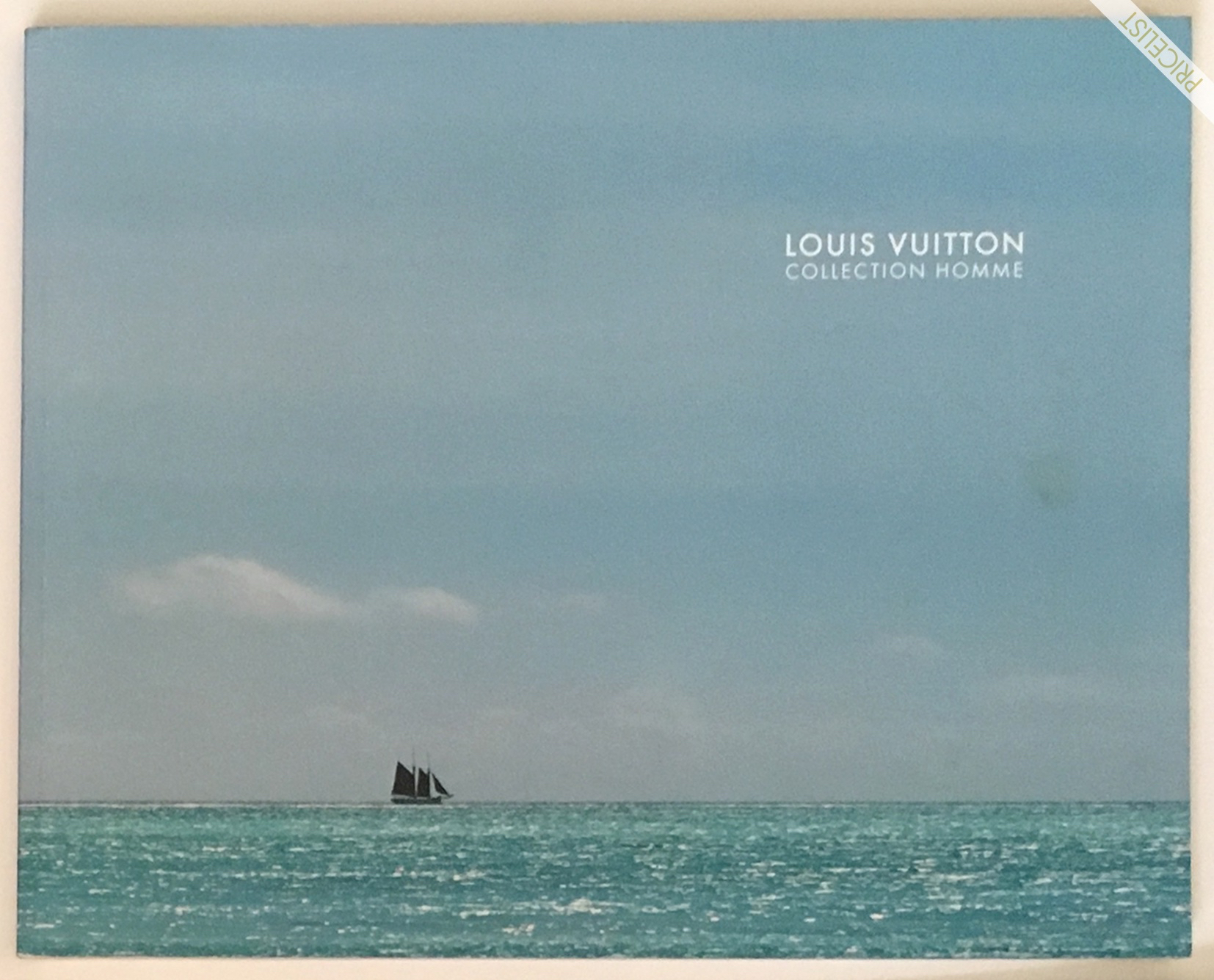 Louis Vuitton Fashion Catalog Spring Summer Men Women RTW Cover Printemps Ete Paris Marc Jacobs 2013