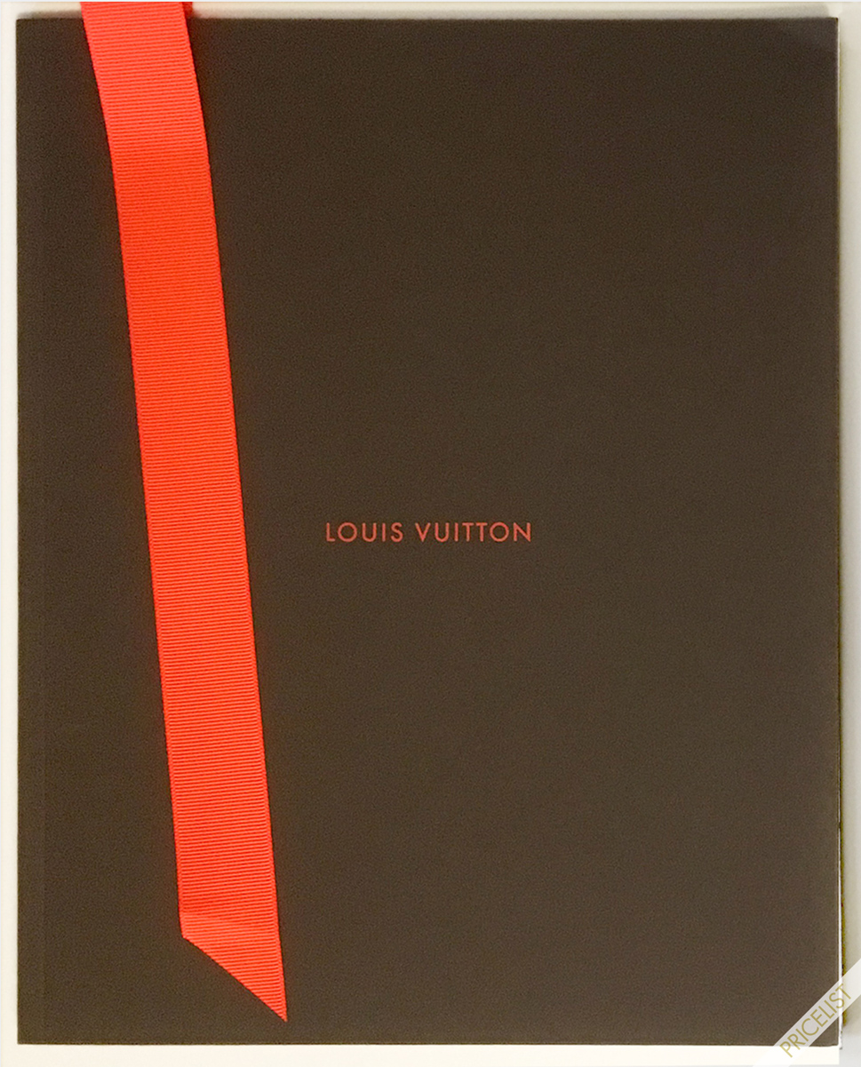 Louis Vuitton Paris Accessories Catalog Maroquinerie Holiday Men Women Cover Marc Jacobs ELuxury 2013 PriceList