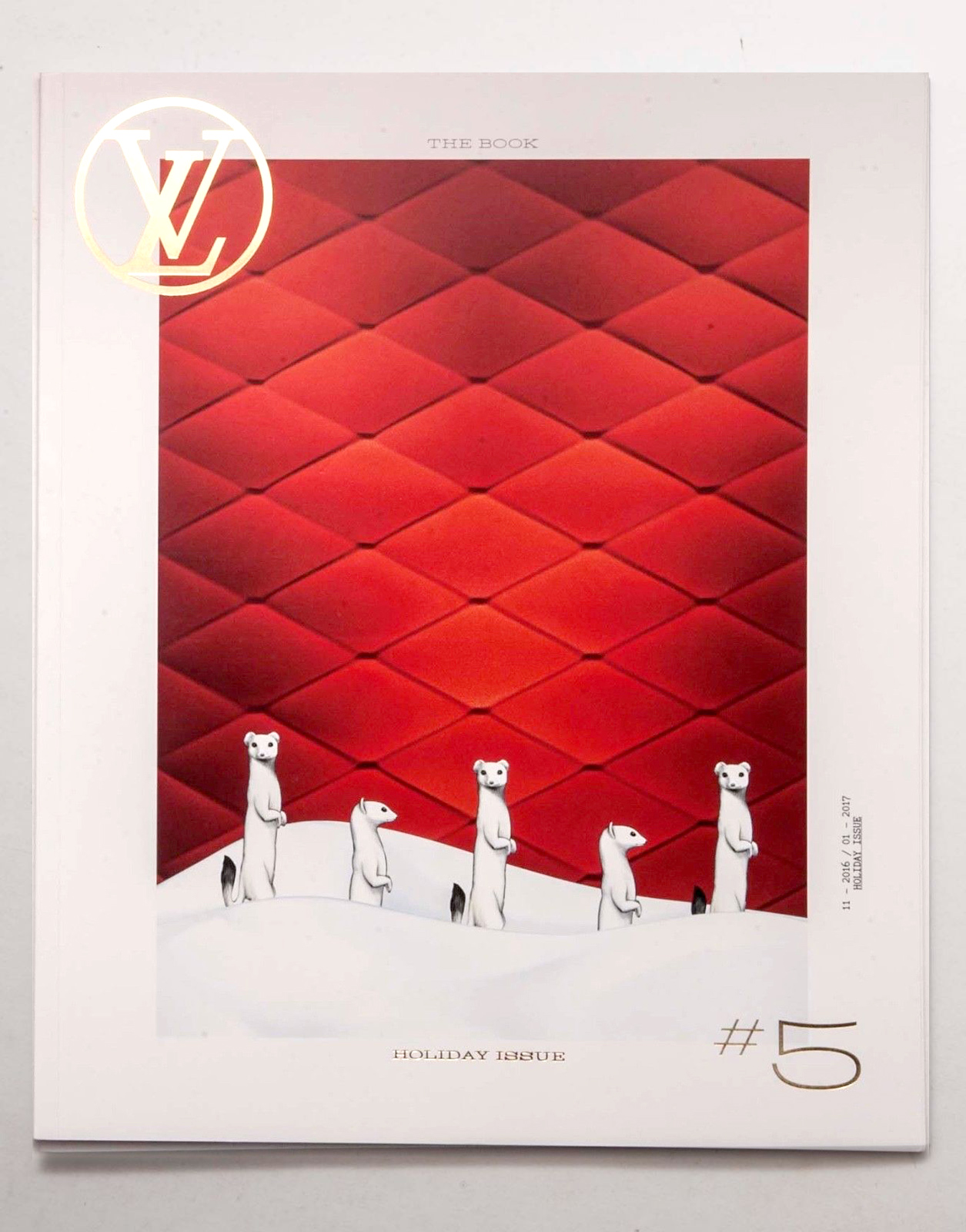 Louis Vuitton Paris The Book #5 Magazine Quarterly Season Fashion Catalog Pret a Porter Ready to Wear RTW Cover Accessories Catalog Maroquinerie Men Women Cover Nicolas Ghesquière Automne - Hiver 2016 – 2017 Holiday Gifts