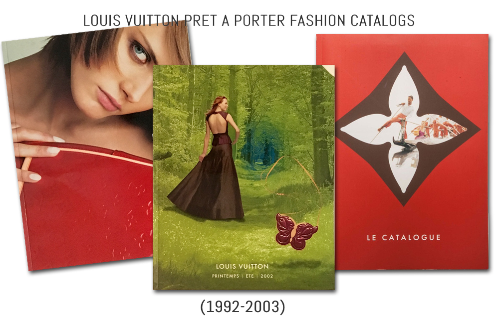 History of Louis Vuitton's Ready to Wear Fashion Catalogs 1 (1999-2003)