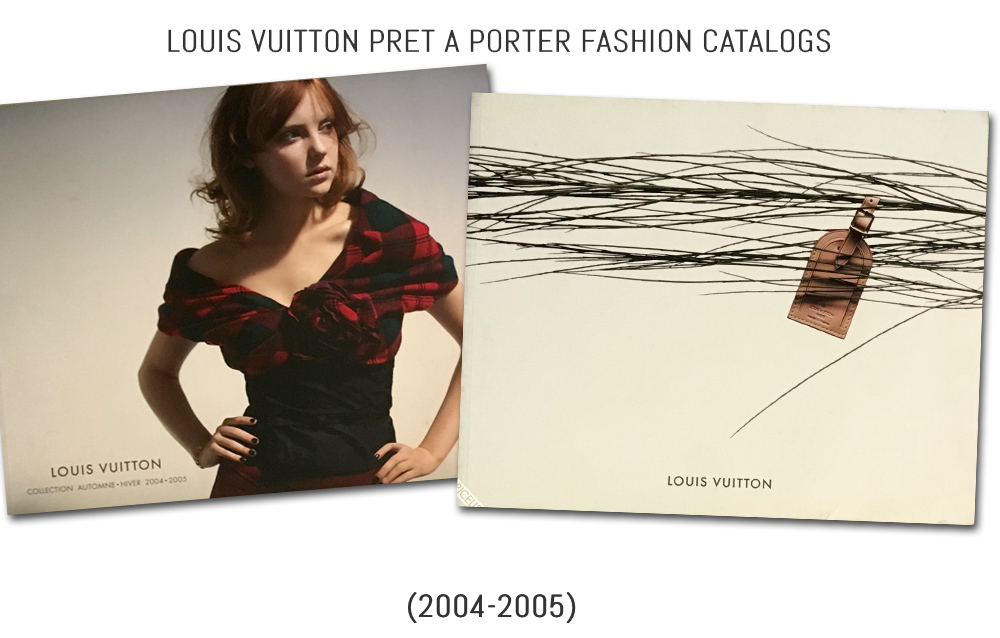 History of Louis Vuitton's Ready to Wear Fashion Catalogs 2 (2004-2005)
