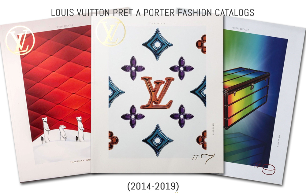 History of Louis Vuitton's Ready to Wear Fashion Catalogs 6 (2014-2019)